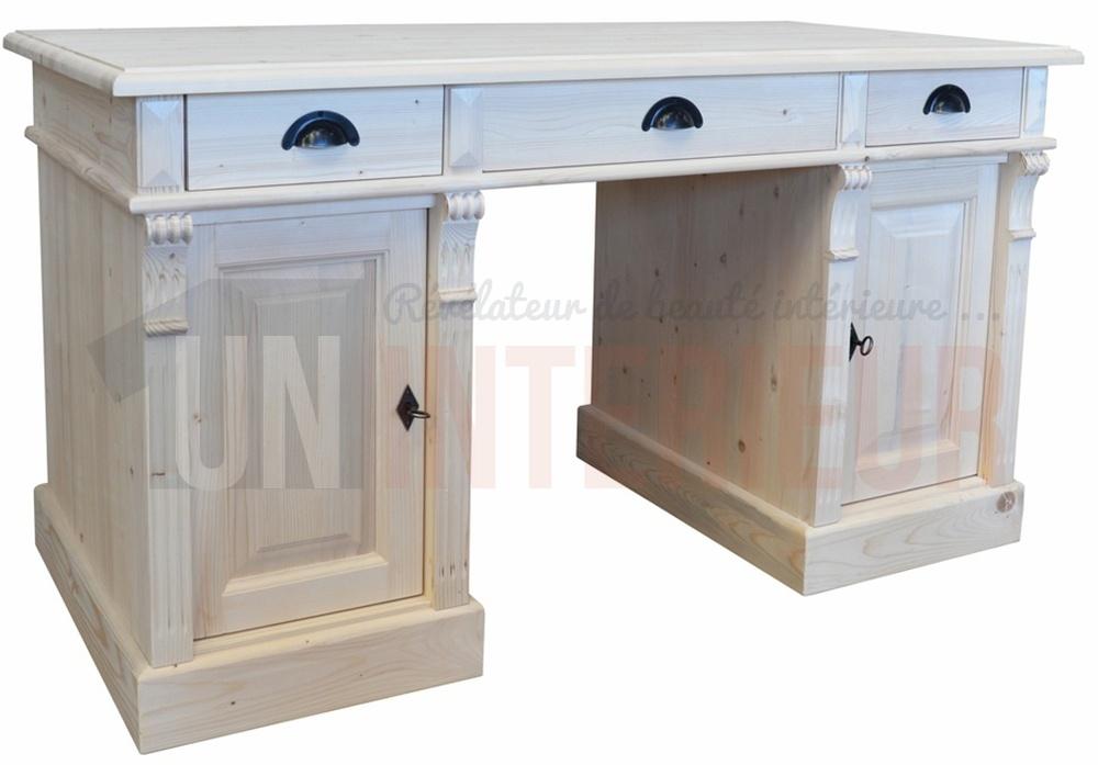 Acheter meuble bureau d atelier pin massif