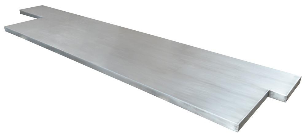 plan de cuisine en zinc plan de travail zinc avec d coupes