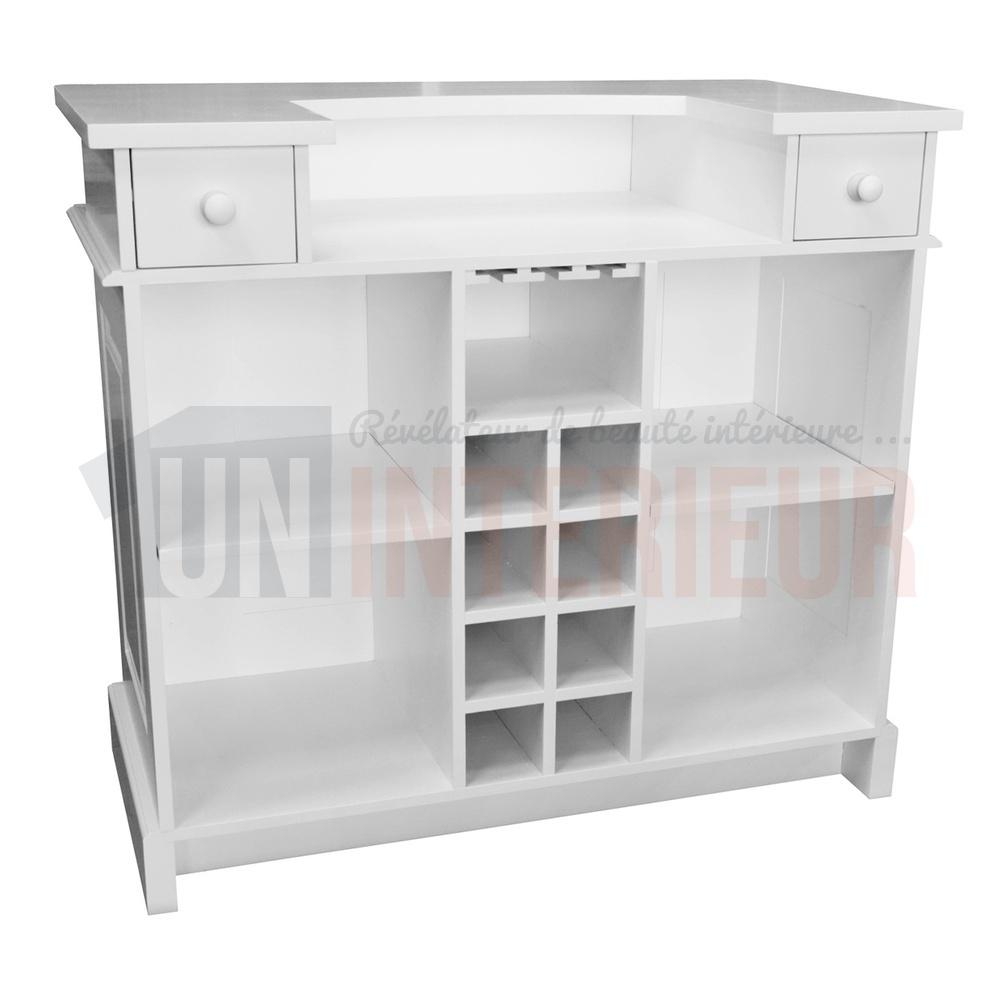 petit comptoir de bar 120cm pin massif. Black Bedroom Furniture Sets. Home Design Ideas