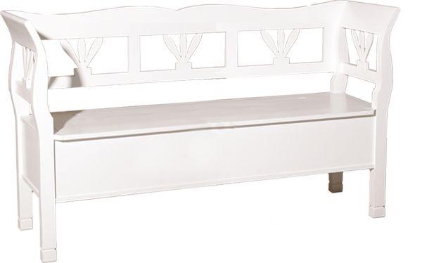 acheter grand banc en pin massif. Black Bedroom Furniture Sets. Home Design Ideas