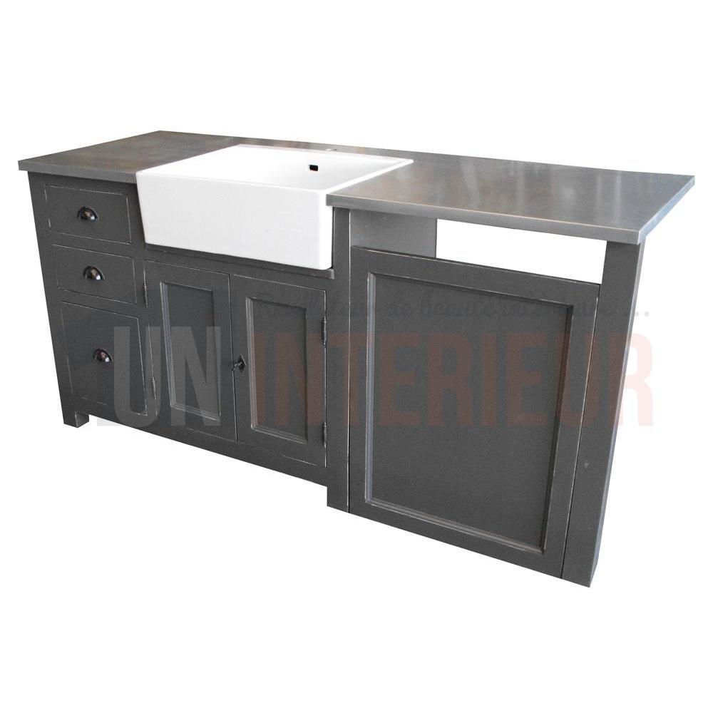 Meuble Evier Avec Timbre D Office Et Emplacement Lave Vaisselle