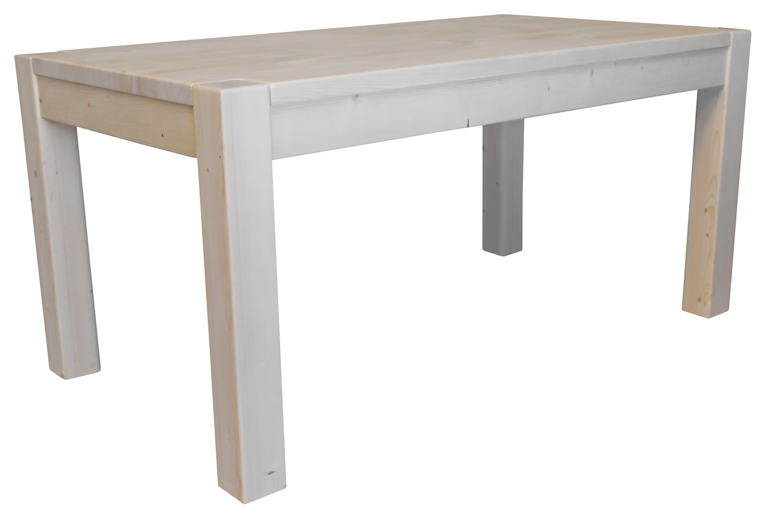 150 table en pin massif table pin massif 120 avec - Table cuisine pin massif ...