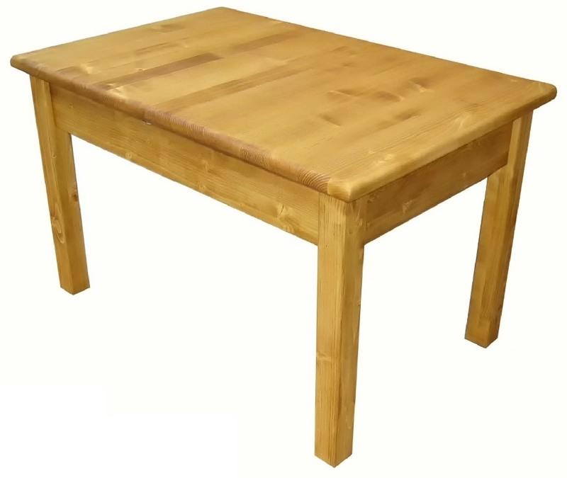 Table portefeuille de 120cm 160cm de large pin massif - Table hauteur modulable ...