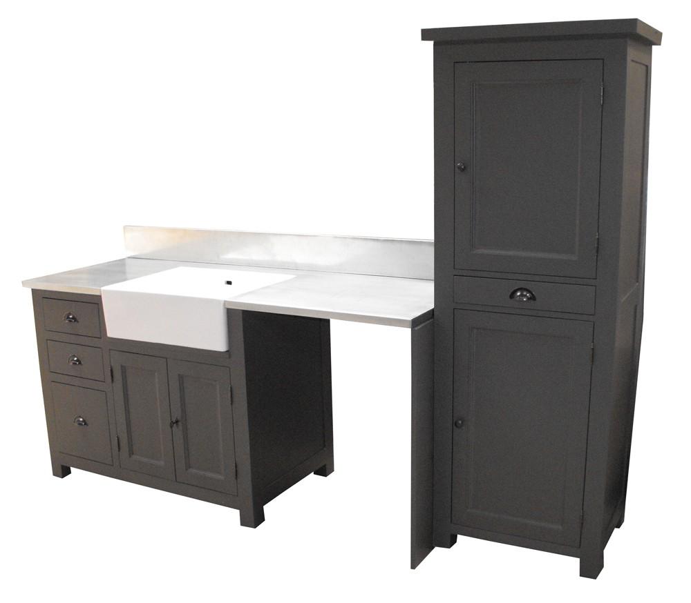 Free meuble cuisine zinc maison du monde meuble cuisine for Meuble zinc maison du monde