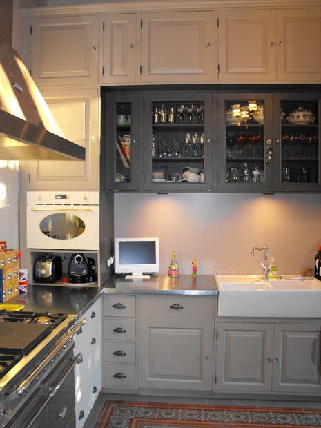 Cuisine chateau sur mesure zinc belle demeure for Devis cuisine sur mesure