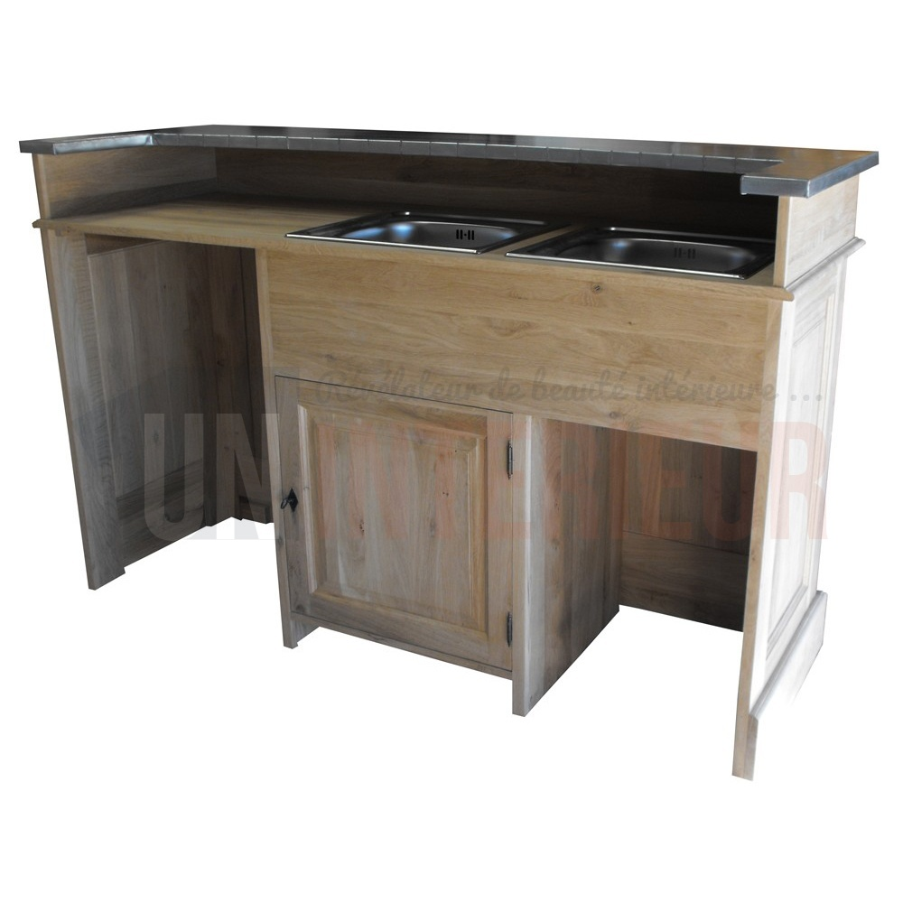 comptoir service avec vier et int gration lave vaisselle et lave verres. Black Bedroom Furniture Sets. Home Design Ideas