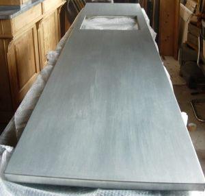 plan de cuisine en zinc plan de travail zinc. Black Bedroom Furniture Sets. Home Design Ideas