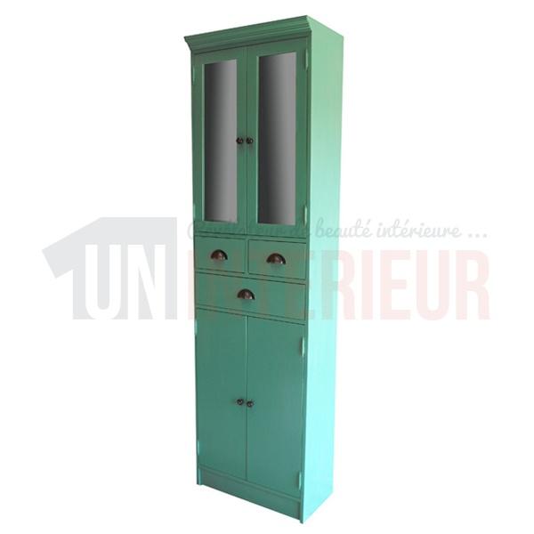 colonne sur mesure de salle de bain pin