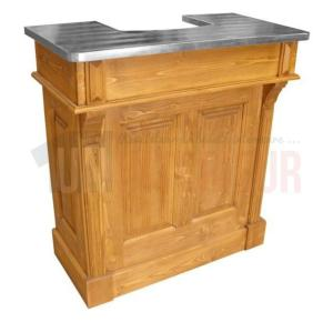 Bar sur-mesure en pin massif 100cm
