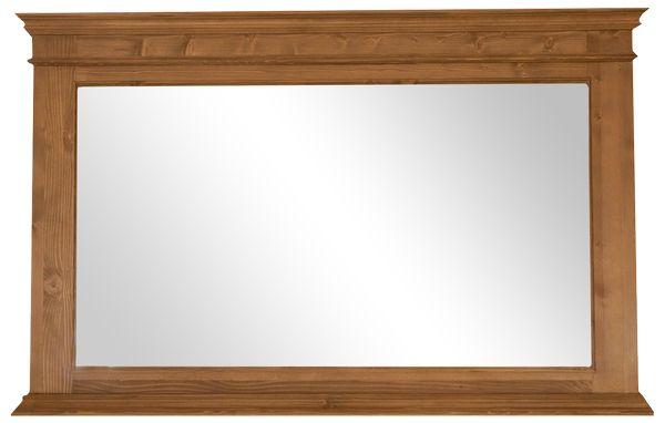 Acheter grand miroir en pin massif salle de bain for Ou acheter miroir
