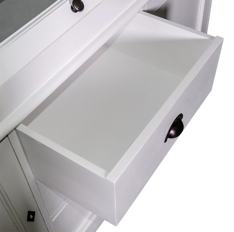Acheter meuble d 39 apothicaire 3 portes pin massif for Meuble apothicaire