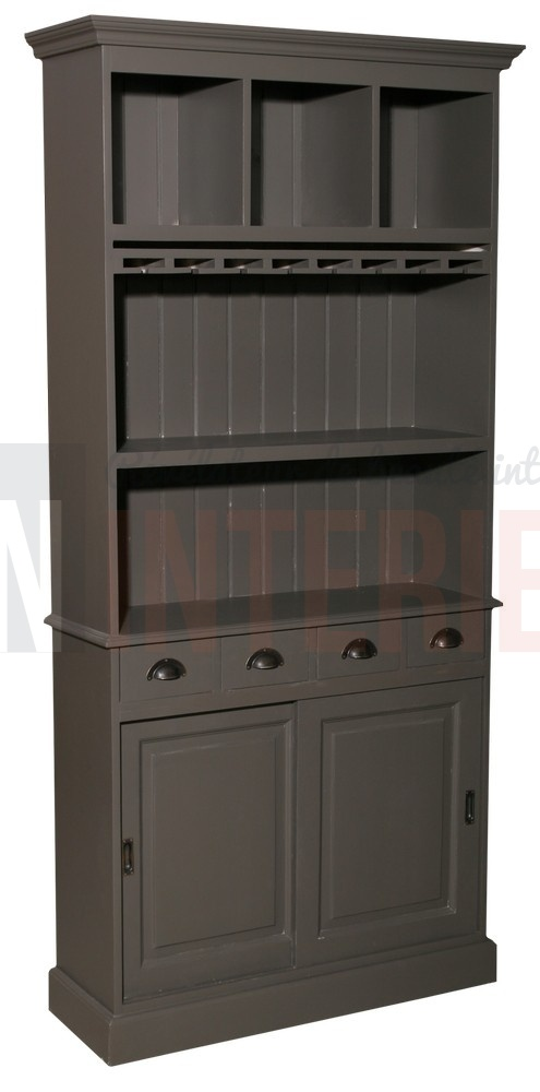 meuble fond de bar en pin massif en 120cm de large. Black Bedroom Furniture Sets. Home Design Ideas