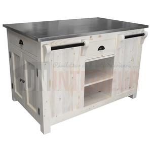lot de cuisine ou p le central en pin massif. Black Bedroom Furniture Sets. Home Design Ideas