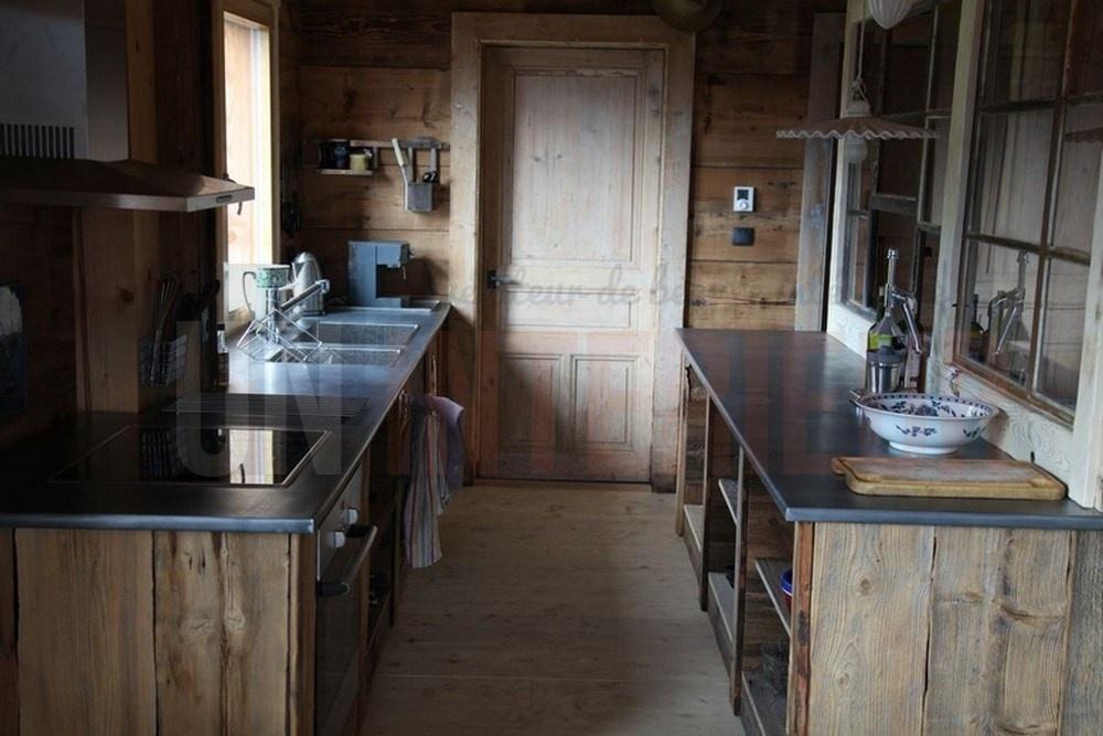plan en zinc sur mesure evier et plaques. Black Bedroom Furniture Sets. Home Design Ideas