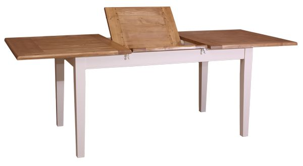 Table portefeuille modulable 8 10 personnes en pin massif - Table rallonge 20 personnes ...