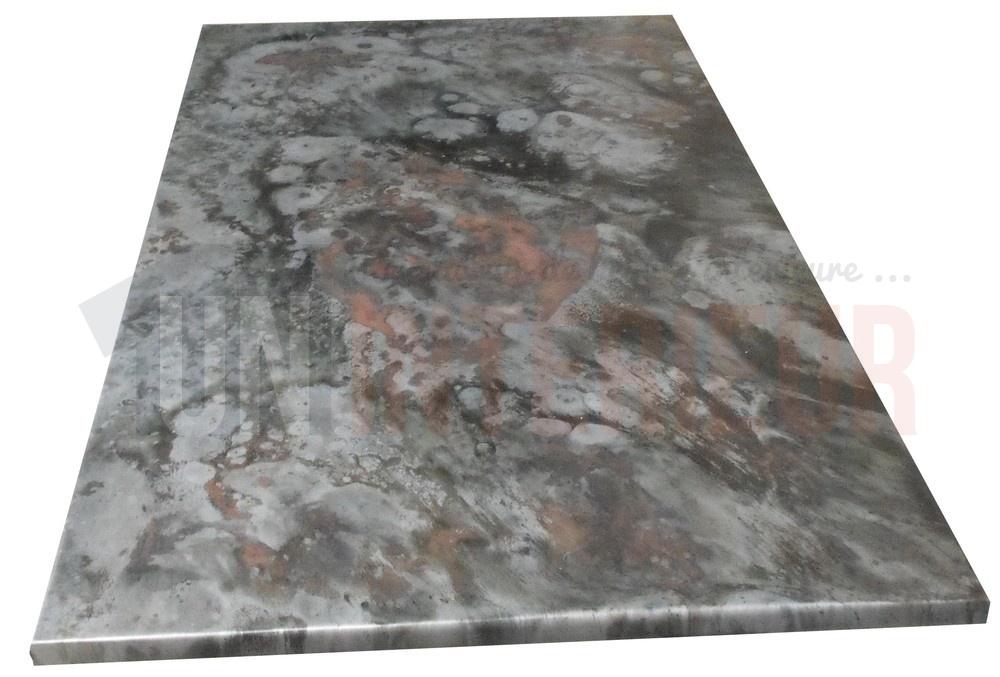 plateau de table en zinc zingueur de tables. Black Bedroom Furniture Sets. Home Design Ideas