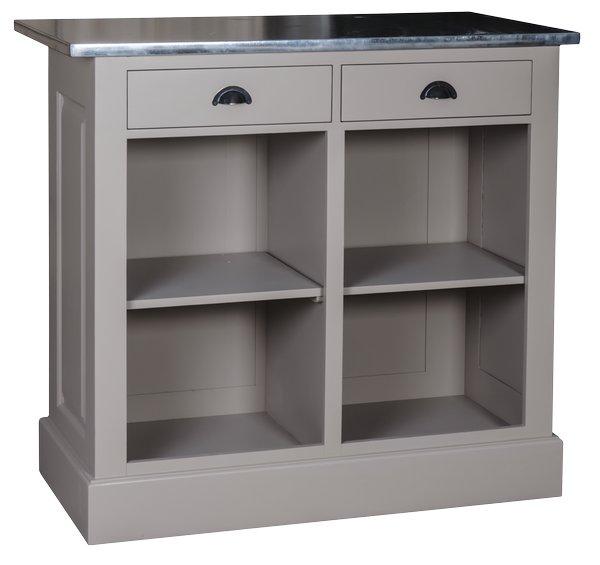 Comptoire De Caisse: Comptoir Caisse Pro 120cm Zinc