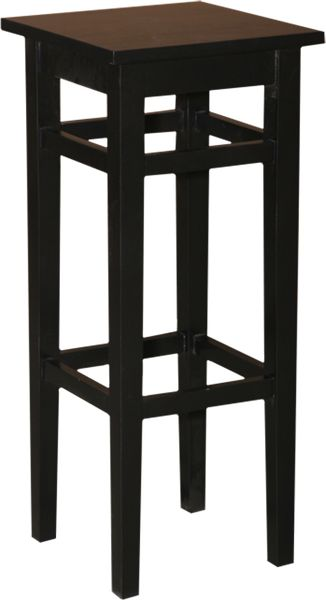 tabouret de bar en pin massif sans dossier. Black Bedroom Furniture Sets. Home Design Ideas