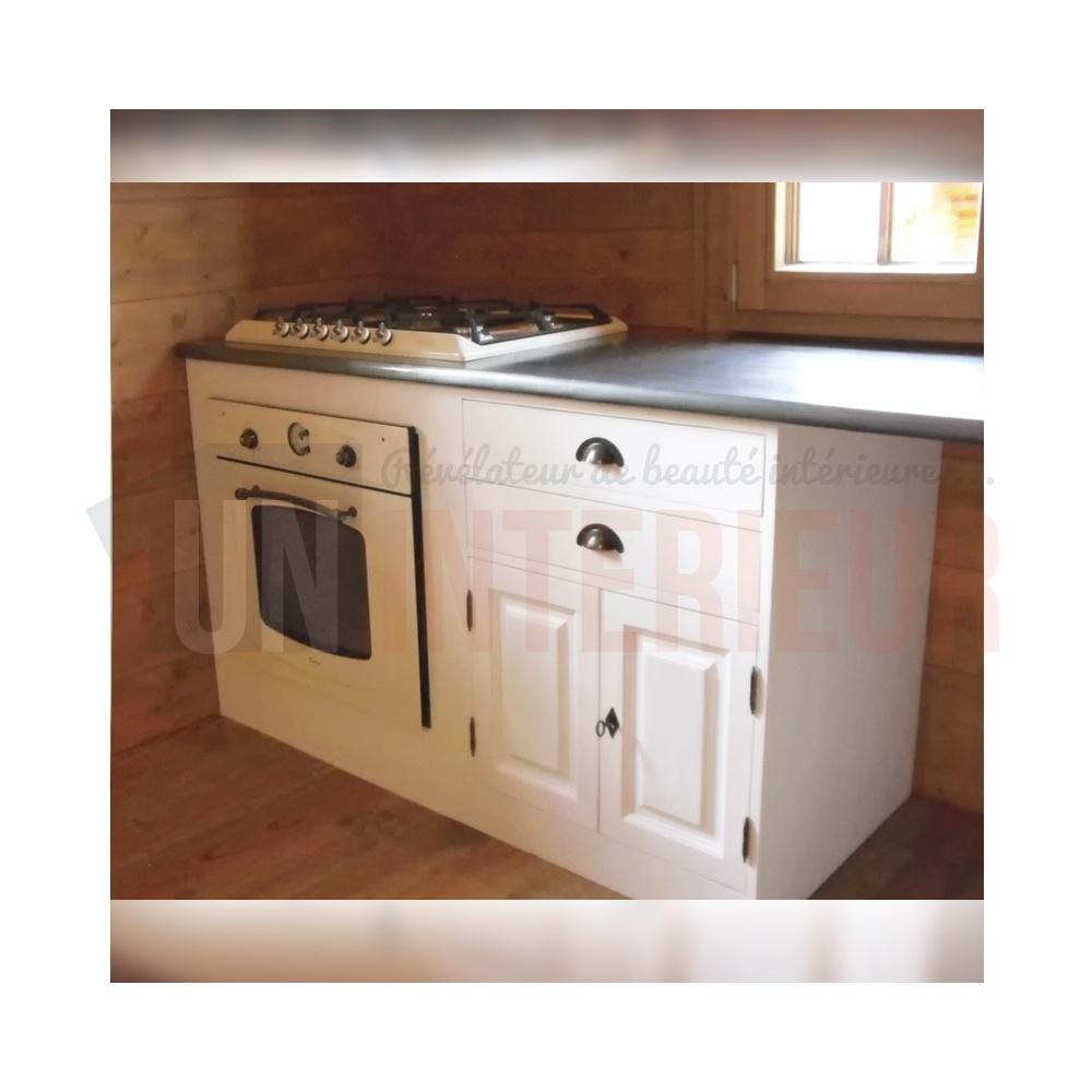 plan de travail en zinc pour cuisine zinc pour recouvrir un meuble affordable relooker un. Black Bedroom Furniture Sets. Home Design Ideas