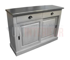 Buffet sur-mesure en pin massif ou buffet 128cm