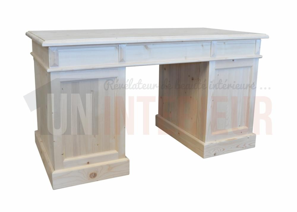 Acheter meuble bureau d 39 atelier pin massif for Meubles bureau 24