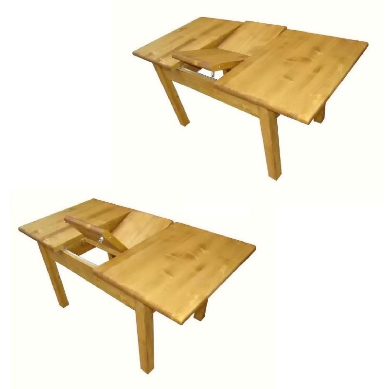 table portefeuille de 120cm 160cm de large pin massif. Black Bedroom Furniture Sets. Home Design Ideas